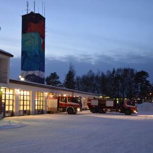 Brandstationen i Vasa.