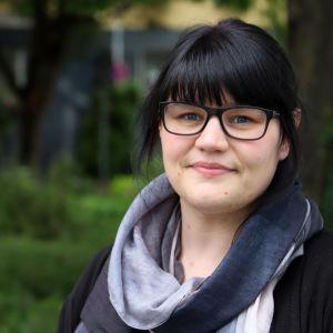 Christine Birkel väntar på sin resa till Finland.