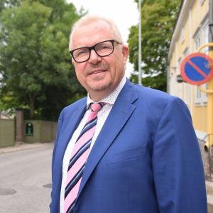 Raseborgs stadsdirektör Ragnar Lundqvist.