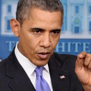 Obama på presskonferens 20.12.2013