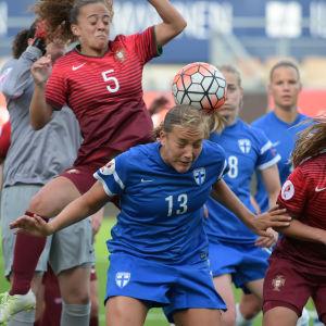 Finland - Portugal, EM-kvalmatch 7.6.2016.