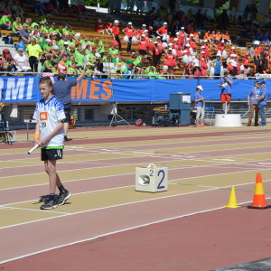 Löpare på startlinjen
