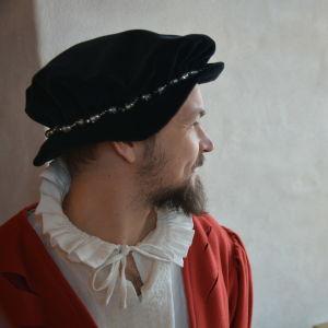 Bengt Selin på Åbo slott.