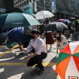 Demonstrationer i Hongkong