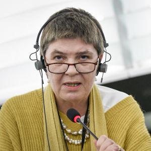 Europaparlamentarikern Claire Fox