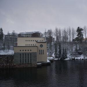 Ämmänkosken voimalaitos.
