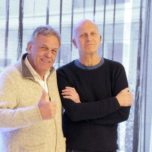 Benny Törnroos och Kent Sjöman.