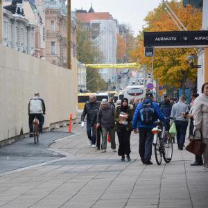 Auragatan i Åbo.