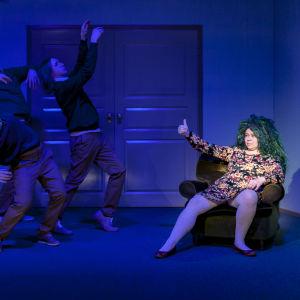 Foto från Medusan huone på Q-teatteri.