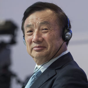 Huaweis grundare och vd Ren Zhengfei
