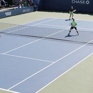 Emil Ruusuvuori ja saksalaisen Dominik Koepfer US Openissa