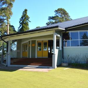 Dansholmens paviljong i Tolkis.