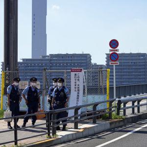 Tokion olympialaisten kisakylä on tarkasti vartioitu.