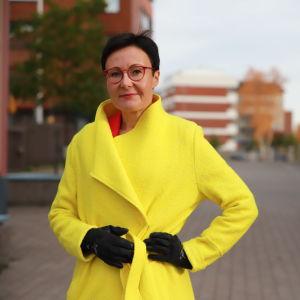 Visit Rovaniemen toimitusjohtaja Sanna Kärkkäinen