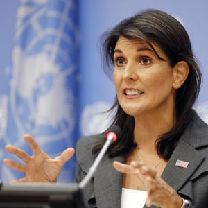 Nikki Haley i New York den 4 september 2018