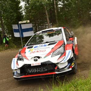 Toyota Gazoo Racingin Jari-Matti Latvala Jyväskylässä 2019