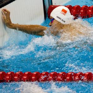 Sun Yang vinner OS-guld i Rio de Janeiro