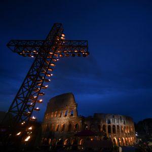 Via Crucis i Rom.