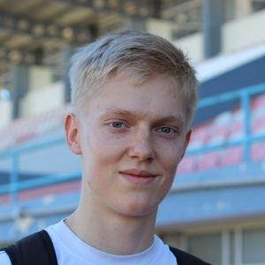Jonni Blomqvist, läger i Portugal, våren 2016.