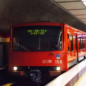 Metro till Mattby