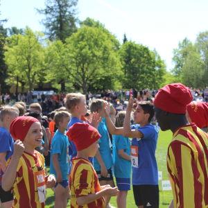 Smedsby-Böle, 12x80 meter lågstadier, Stafettkarnevalen 2018.