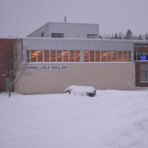 Winellska skolan i Kyrkslätt.