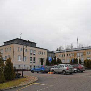 Prakticums huvudbyggnad i Borgå.