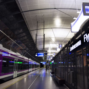 Helsingfors-Vanda flygplats tågstation