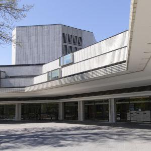 Helsingin kaupunginteatterin julkisivu