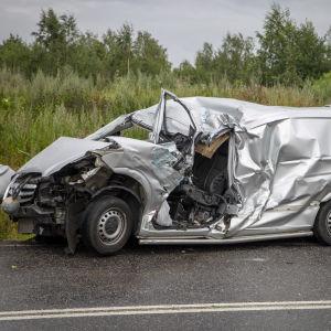 Vakava liikenneonnettomuus Kirkkonummella 28.7.2020