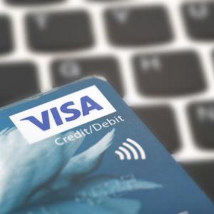 Betalkort med kontaktlös betalning