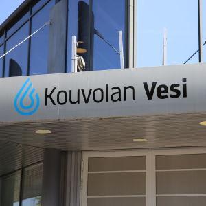 Kouvolan Veden konttori Kouvolan Kauppalankadulla.