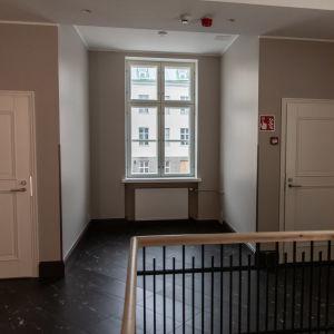 RAuhan sairaalan potilaan Eino Hännisen huone on nykyään portaikon aulatila