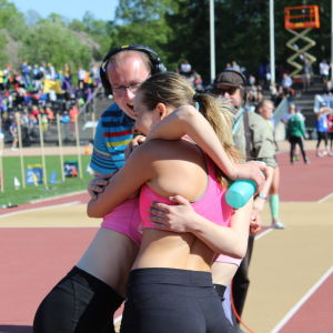 Vasa Övningsskola vann 4x100 m, Stafettkarnevalen 2018.