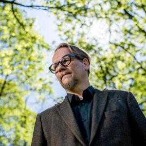 Kirjailija Sjon Helsingissä