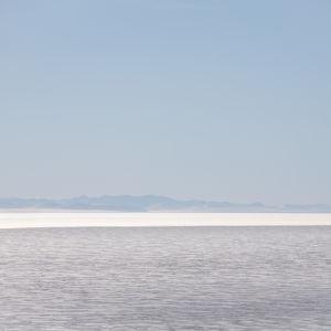 Hav och glaciär i Antarktis.