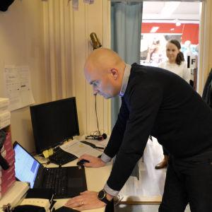 Företagare Andreas Ögård
