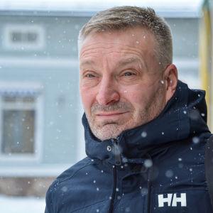 Krister Lindman, servicechef för hemvården i Borgå