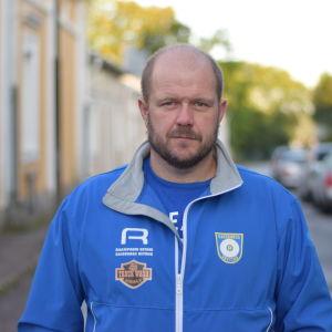 Porträttbild på Krister Holmberg.