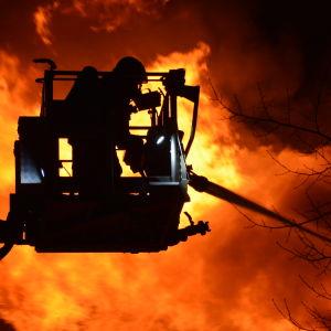 Brand i Borgå 08.04.2020