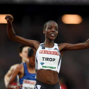 Agnes Tirop.
