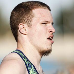 Samuel Purola suoriutui hyvin 200 metrin finaalista.