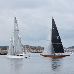 Sexor har världsmästerskap i segling i Hangö sommaren 2019.