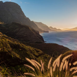 Maisema Gran Canarian länsirannalta.