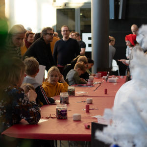 BUU-dagen i Hfors 2019. Pysselhörnan.