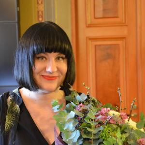 Marjo Niemi mottog Runebergsproiset 2018.