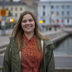Työllistynyt, työttömäksi jäänyt Janica Tuominen