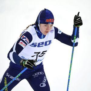 Anita Korva i junior-VM