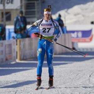 I januari 2020 tävlade Tuomas Harjula i junior-VM.