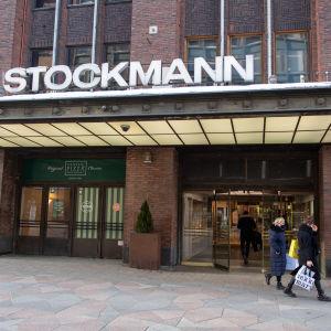 Stockmannin Helsingin keskustan tavaratalo.